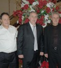 The hosts, brothers George, Kostas and Petros Nerantzinis, owners of North Ritz Club