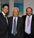 Renos Christou, John Hatiris and Mike Angeliades