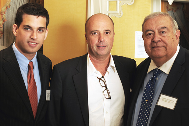 George Petrocheilos, Andreas C. Dracopoulos and Aris Melissaratos