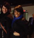 Baltimore City Mayor Stephanie Rawlings-Blake (right) and Deputy Mayor Kaliope Parthemos