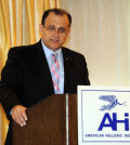 "Nick Larigakis speaking at the AHI forum, ""Greece Moving Forward: Implications and Realities"""
