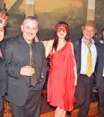 Picture of Apollo Orchestra with among else, Lefteris Bournias (Band leader, clarinet), Thomas Vrettos (vocals/bouzouki), Christoforos Ellis musical director, PHOTO: ETA PRESS