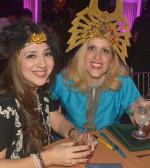 Roula Lambrakis and Stella Lymberis, the organizers, PHOTO: ETA PRESS