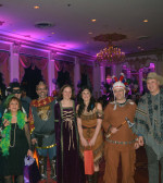 Pictures of guests receiving awards for best costume, PHOTO: ETA PRESS