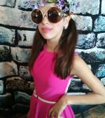 Kyriake-Melina Robotis as a young diva, PHOTO: ETA PRESS