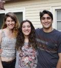 Sofia Moustahfid, Eliana Papanicolaou and Theo Couloumbis