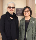 Sound Engineer and Oscar Nominated Mildren Iatrou Morgan with colleague Ai-Ling Lee