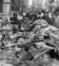 """The homes and workplaces of Greeks and other non-Muslim communities had been located by the mobs beforehand. One day before the pogrom, the aggressors had told the owners of Turkish shops to """"put Turkish flags on their windows""""; the shops that did not have Turkish flags were destroyed or damaged. Witnesses said that the mobs were equipped with a list of addresses to attack."""