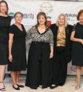 The gala committee. From left, Ioanna Kalivaki, Georgia Marketos, Bessie Sioutas-Vassilopoulou, Jane Bizos and Mary Latsey-Amvrazi