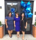 Left to right: Hellenic Classical Charter School Principal Natasha Caban-Vargas, Superintendent Christina Tettonis, and Chief of Operations Joy Petrakos. Photo: Courtesy of Hellenic Classical Charter School