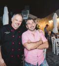 Chef Giannis Kotsos and Alex Karavias