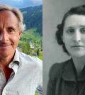 Overseer Phokion Potamianos (left) and his grandmother, Dr. Thalia Potamianos (right)